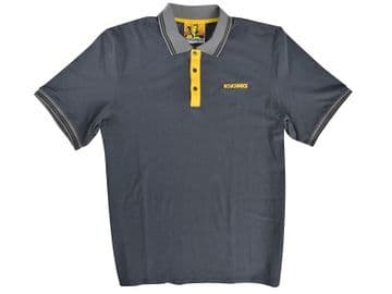 Grey Polo Shirt - M (39-41in)